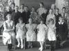 Skolavslutning i Bissjöns skola 1934
