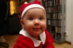 Stina förbereder för jul